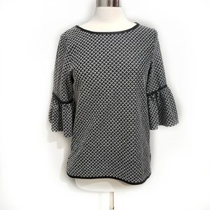 MAX STUDIO Top with Bell Sleeves